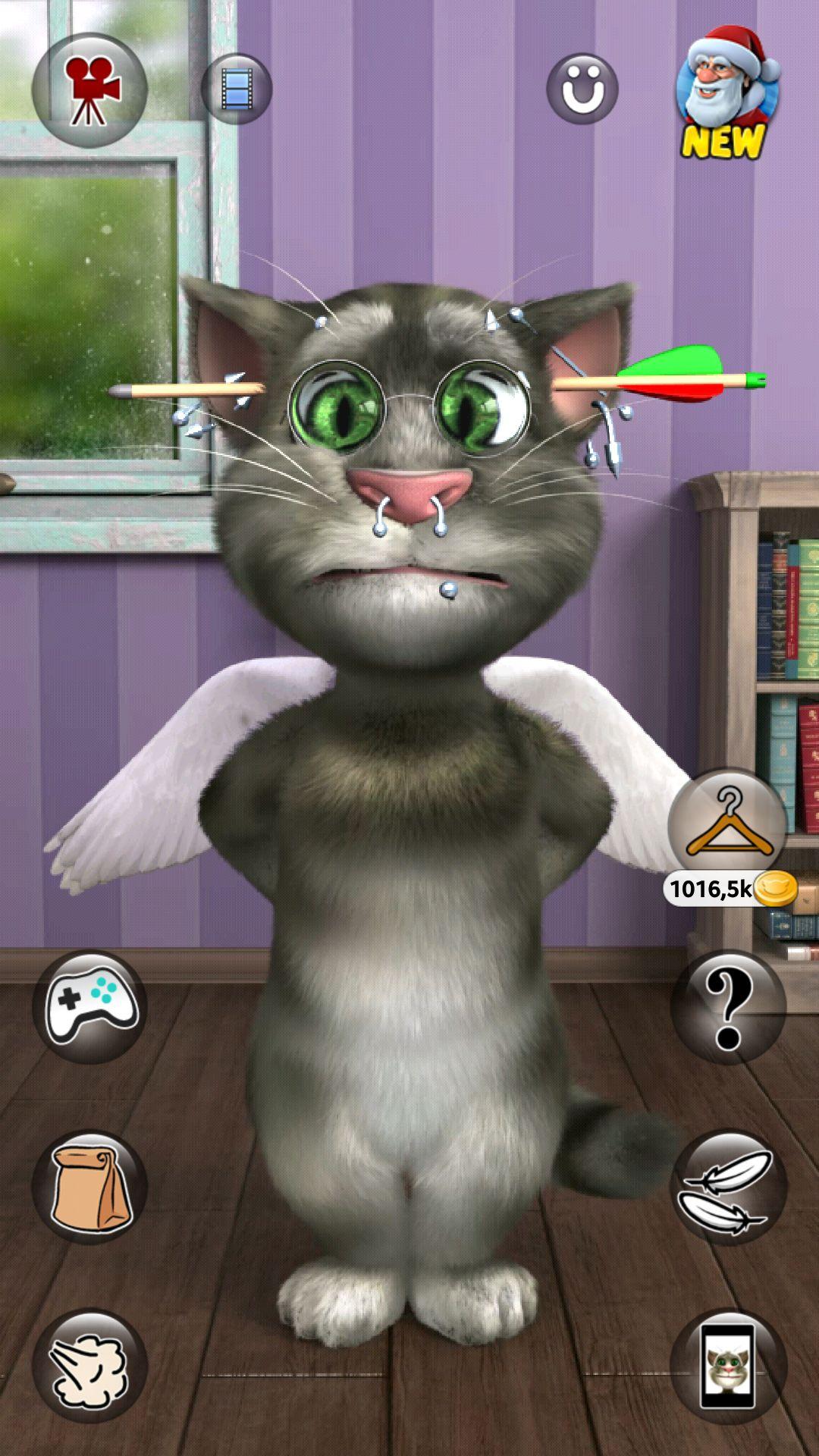 Скачать том говорящий кот 2 на андроид